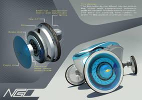 Chevrolet N-Go concept by criarpo
