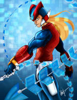 Fail: Megaman Tribute Entry by InkFable