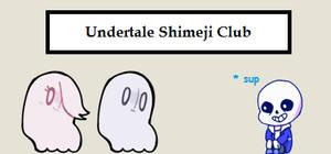Undertale Shimeji Club by TeamPokeFan