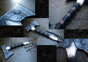 Celtic Axe by KillingjarStudios
