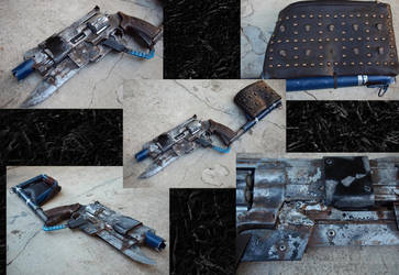 Revolver 357 Post Apocalyptic Carbine by KillingjarStudios