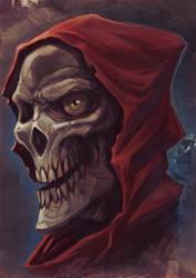 The red phantom by WacomZombie