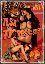 Ilsa Tigress of Siberia by WacomZombie