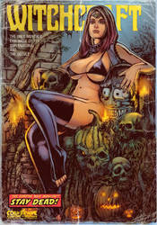 Sitting Death Witchcraft by WacomZombie