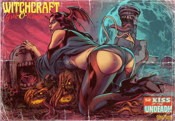 Grave world Pinup by WacomZombie