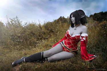 Dark elf by arienai-ten