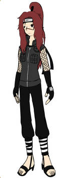 Rei Hanazawa (My female Naruto OC) by Awesomeness5000