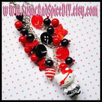 Hello Kitty Charm Bracelet I by wickedland