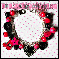 I Love Rock and Roll Bracelet by wickedland