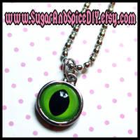 CREEPY CUTE Monster Eye Charm by wickedland