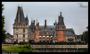 Castle of Maintenon France by MJ-Ach