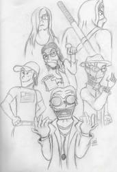 League of Villainous Villainy by cwood815