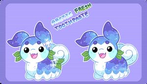 Pacapillar MYO Arctic Fresh Toothpaste by Miizue