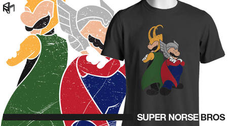 Super Norse Bros by razzann