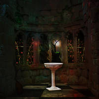 The Scrying Room by Just-A-Little-Knotty