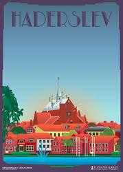 Haderslev-Domkirke by PlakatBrigaden