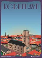 Kobenhavn-Domkirke by PlakatBrigaden