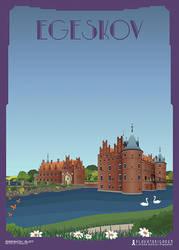 Egeskov Slot by PlakatBrigaden