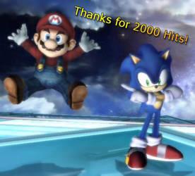 2000 view Thanks by KazarSanaga