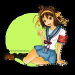 AT - Haruhi Suzumiya by Waanmo