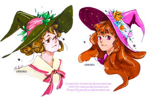 Witchsonas colors by Waanmo