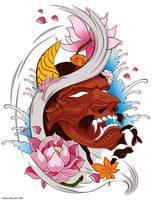 Kabuki Mask by Mamba26