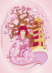 Cherry Blossoms by Mamba26