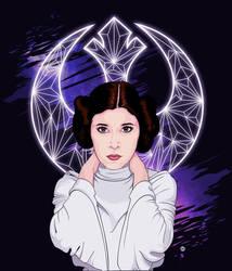 Leia Organa by Mamba26