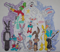 Easter Bunnies 2005 by thegame2158
