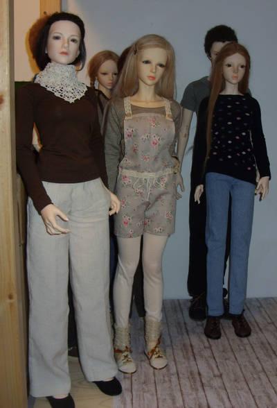 Heather and Lauren got crochet stuff by Jany1982