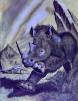 Wooley Rhino by John-Baroque by John-Baroque
