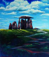 Stone Circles North Wales by John-Baroque by John-Baroque
