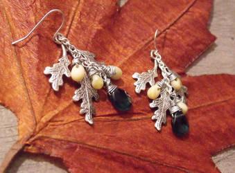 Galadriel's earrings by TheBrassGlass