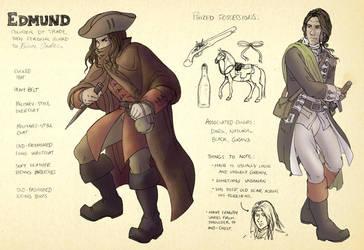 AUR character sheet - Edmund by TheBrassGlass