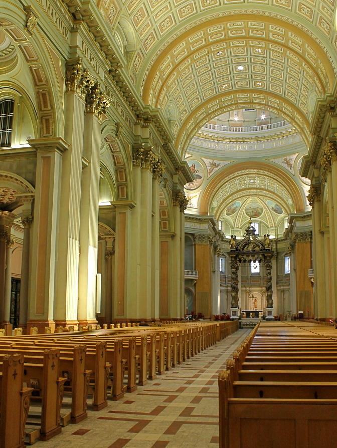Cathedrale Marie-Reine-Du-Monde by TheBrassGlass