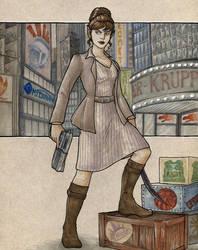 Commission - C'Nedra by TheBrassGlass