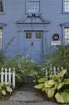 Door to Simeon Belden's home by TheBrassGlass