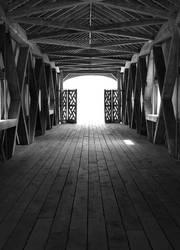 Comstock Bridge interior by TheBrassGlass