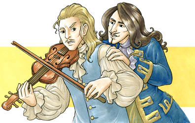 Trade - Henry and Apollo by TheBrassGlass