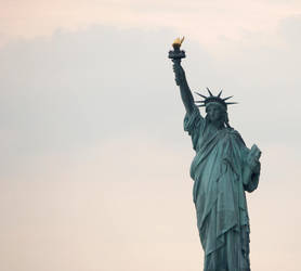 Lady Liberty by TheBrassGlass