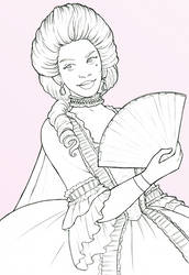 Sketchatember 7 - Oriane by TheBrassGlass