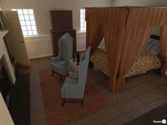 AUR - Franza's house (bedroom) by TheBrassGlass