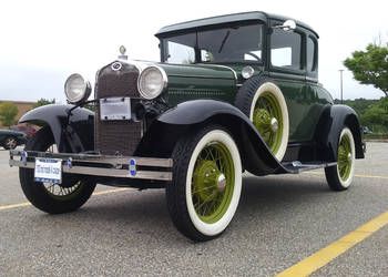 1930 Ford Model A Coupe by TheBrassGlass