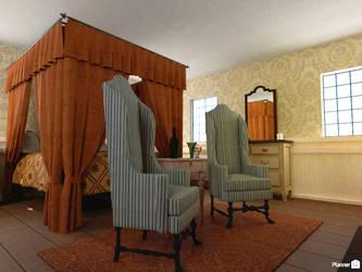 AUR - Franza's house (bedroom 2) by TheBrassGlass