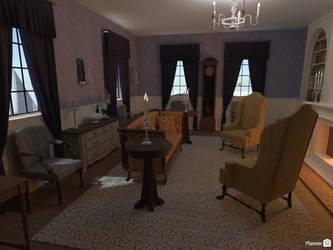 AUR - Manor Federick, parlor 1 by TheBrassGlass
