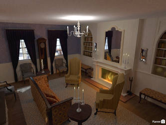 AUR - Manor Federick, parlor 2 by TheBrassGlass