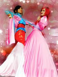 Mulan + Ariel by tabeck