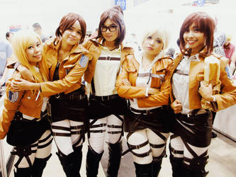 SNK Cosplay by tabeck