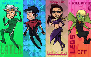 Young Avengers Bookmarks by xDavyn