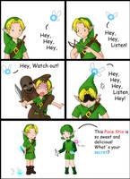 The Legend of Zelda: Navi by Xarity